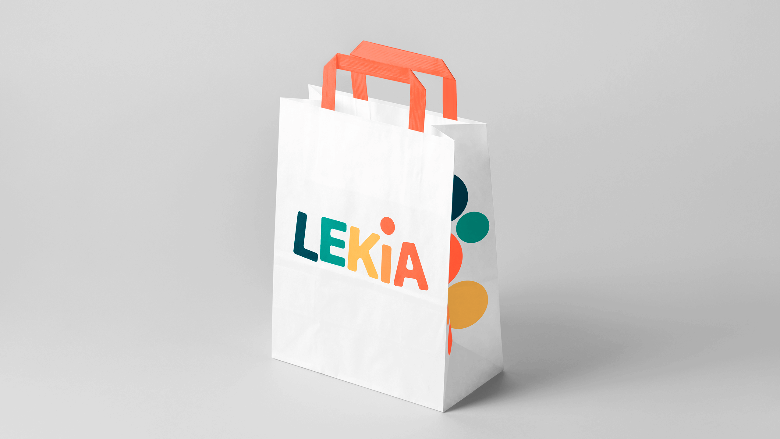 Lekia brand and logo design