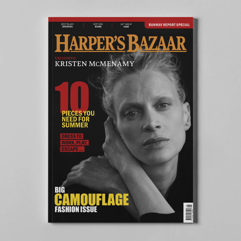 Harper's Bazaar 1 mockup square