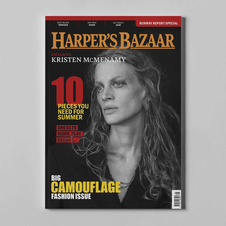 Harper's Bazaar 2 mockup square