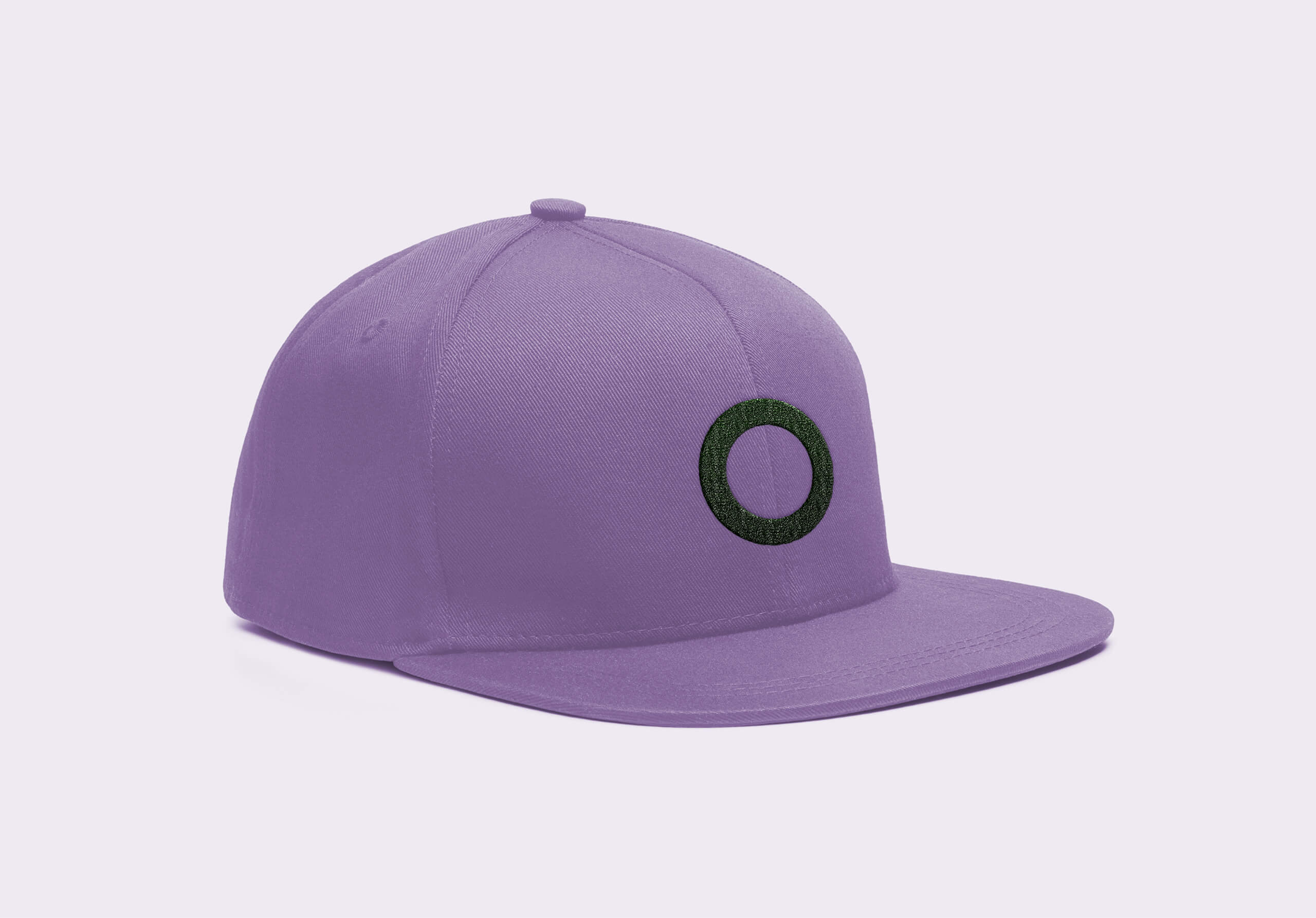 Cap mockup purple 2