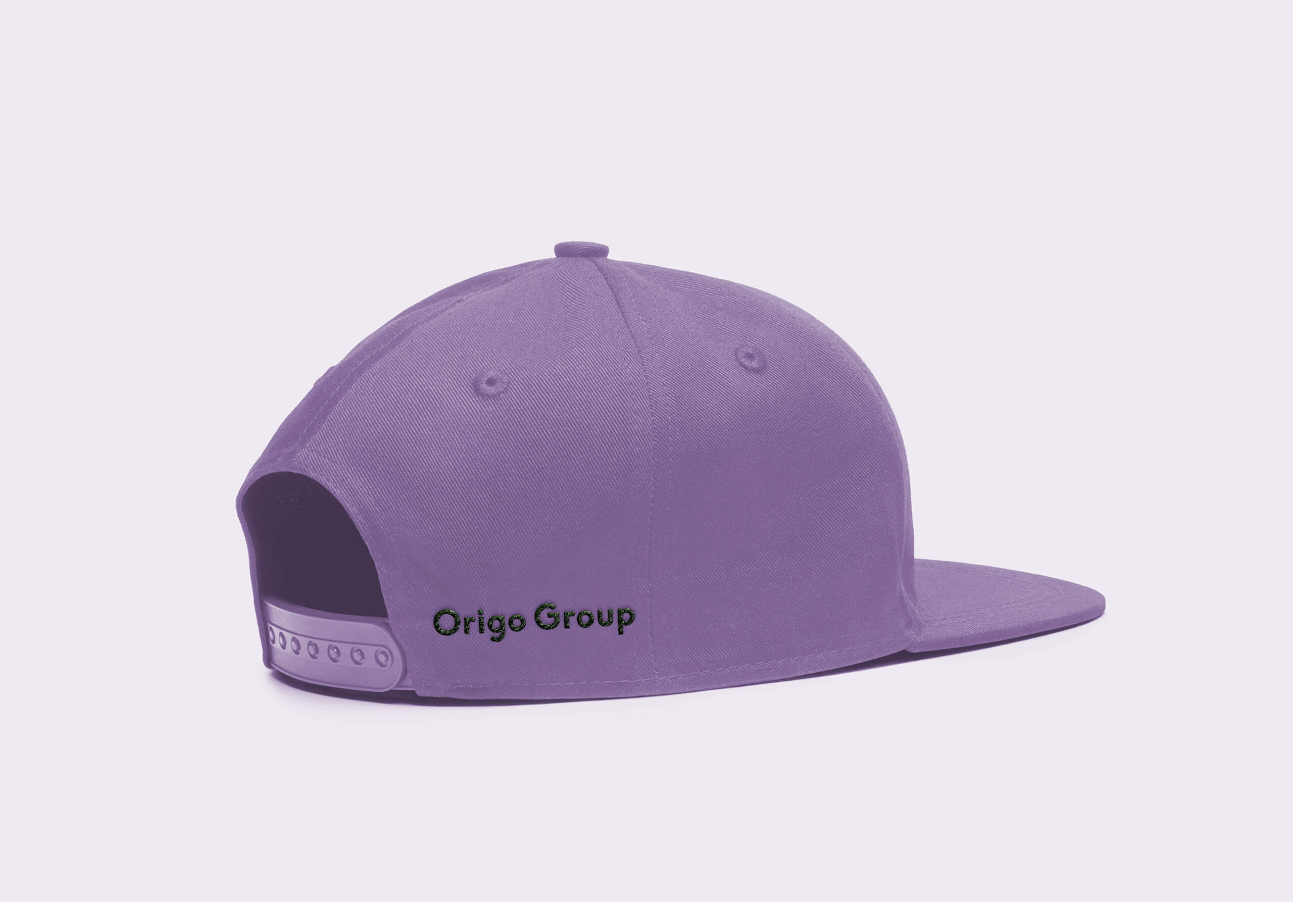 Cap mockup purple